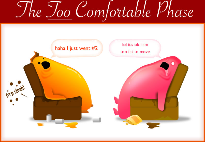The TOO Comfortable Phase