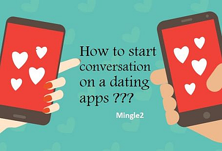 How to start a conversation on a dating app