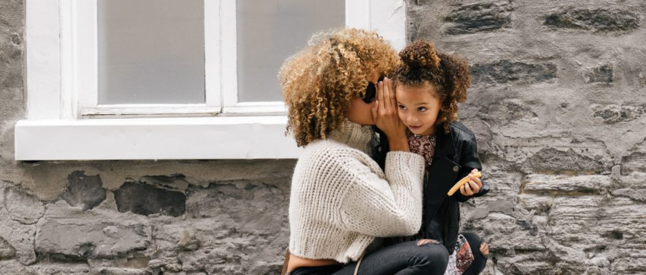 A Single Parent Using Dating Sites is taking care of her child
