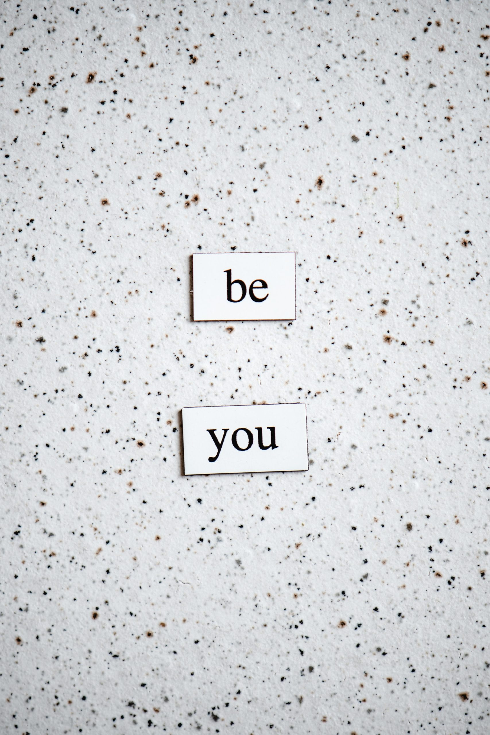 Image with text as be you