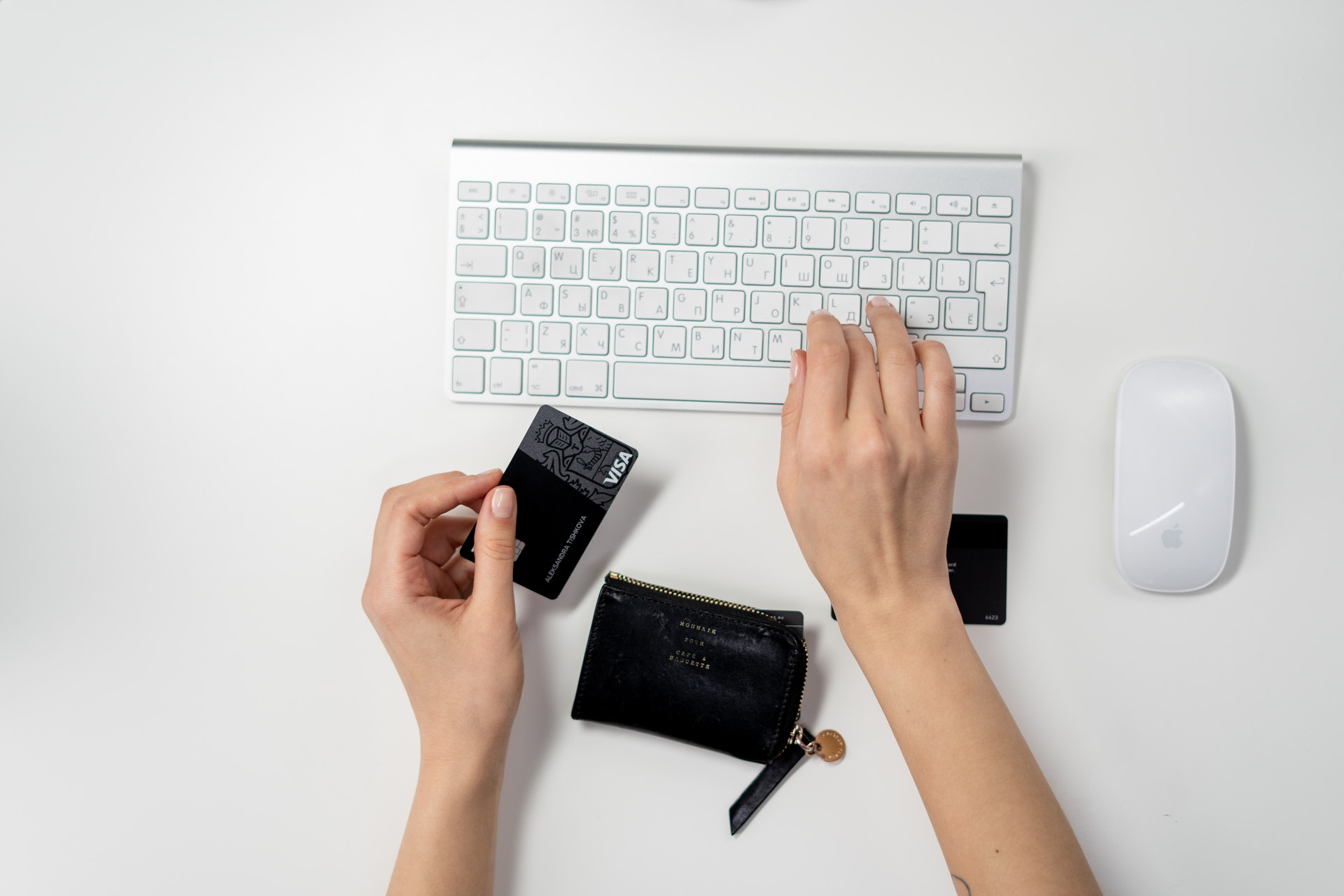 input credit card online