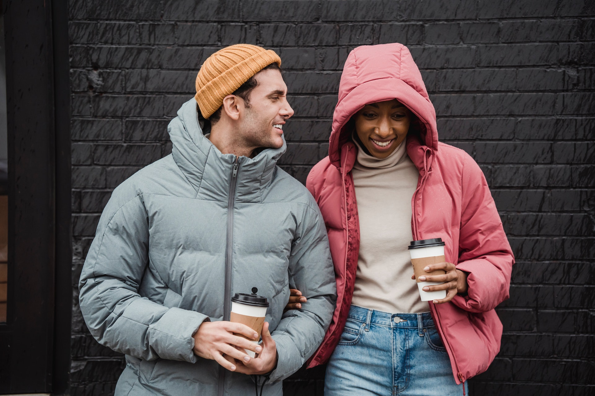 an interracial couple dating