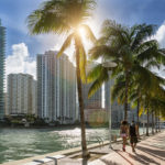 downtown Miami, single people